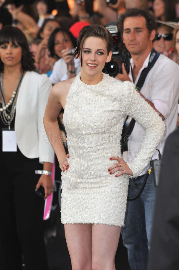Kristen Stewart. At the premiere of her new movie The Twilight Saga: Eclipse at the Nokia Theatre at L.A. Live. June 24, 2010 Los Angeles, CA Picture: Paul stock photo