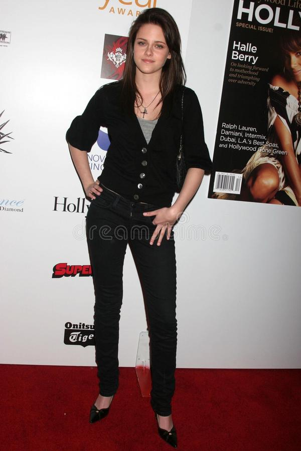 Kristen Stewart. At the 7th Annual Hollywood Life Breakthrough of the Year Awards. Music Box Theatre, Hollywood, CA. 12-09-07 stock image