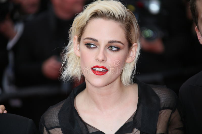 Kristen Stewart. Attends the Cafe Society & Opening Gala during the 69th Annual Cannes Film Festival, held at palais du festival, on 11 May 2016 in Cannes stock photography