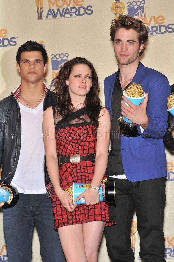 Download Kristen Stewart,Robert Pattinson,Taylor Lautner Editorial Photo - Image: 26026406