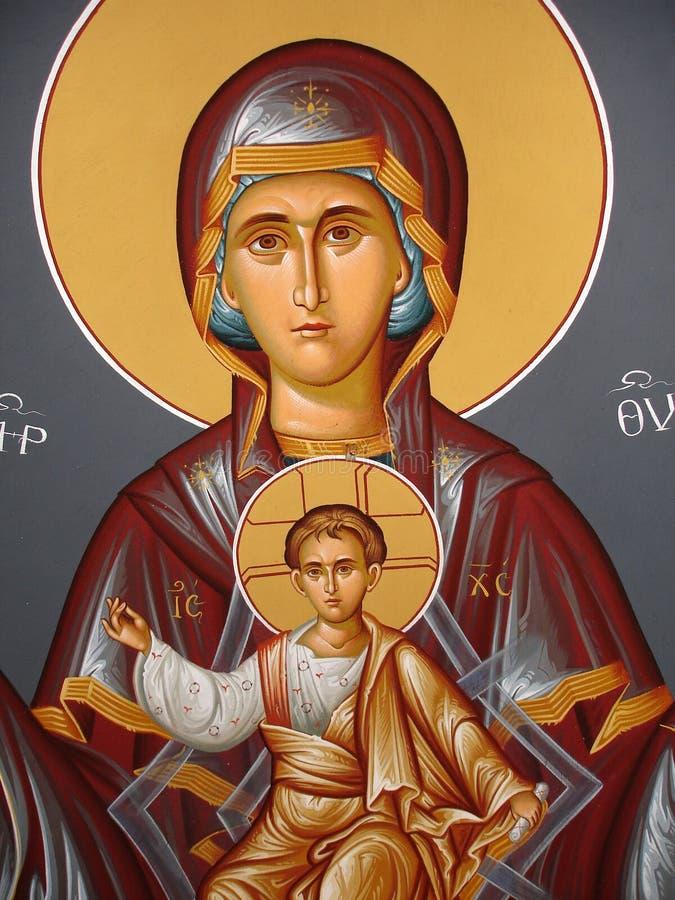 kristen symbol arkivbild