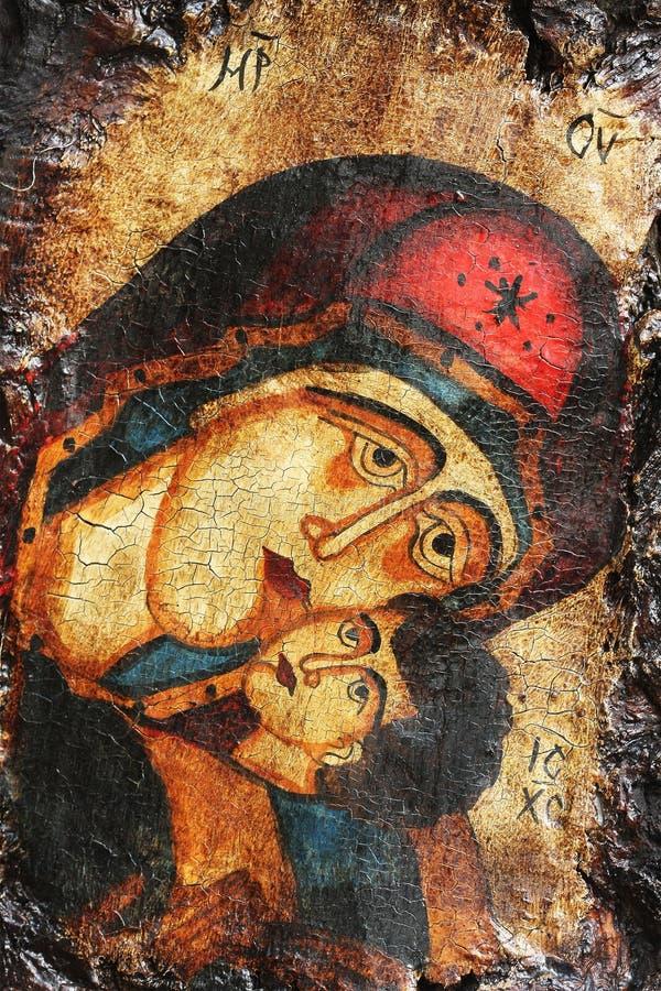 kristen symbolstappning royaltyfri foto
