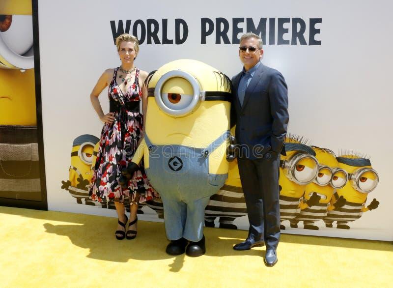 Kristen Wiig et Steve Carell photos libres de droits