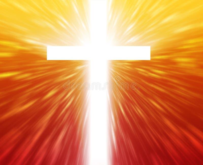 kristet kors vektor illustrationer