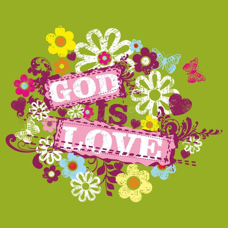 Kristet tryck tät gudförälskelse för bibel upp royaltyfri illustrationer