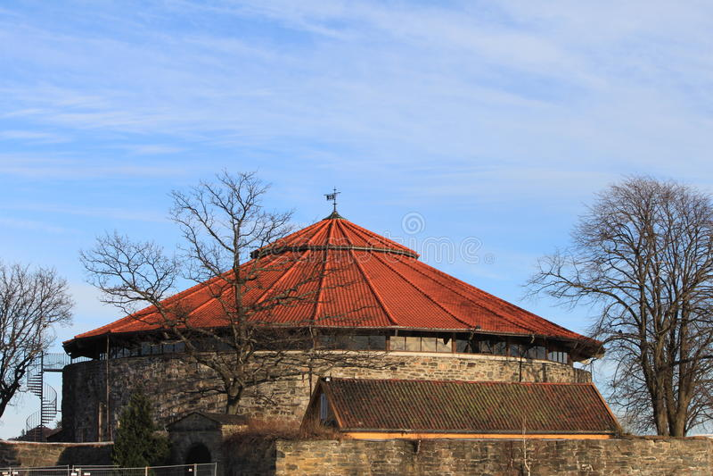 Kristiansand Schloss stockfotografie