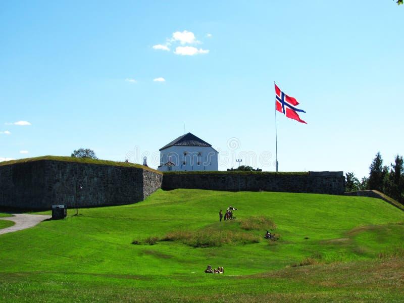 Kristiansten堡垒 库存图片