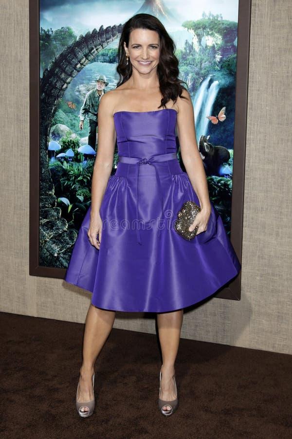 Kristin Davis foto de stock royalty free