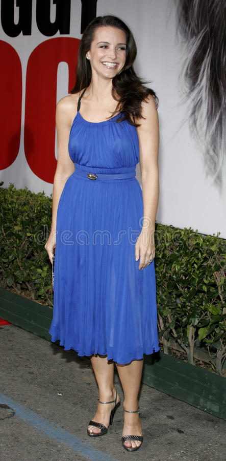Kristin Davis. Attends the Walt Disney's World Premiere of The Shaggy Dog held at the El Capitan Theatre in Hollywood, California on March 7, 2006 stock image