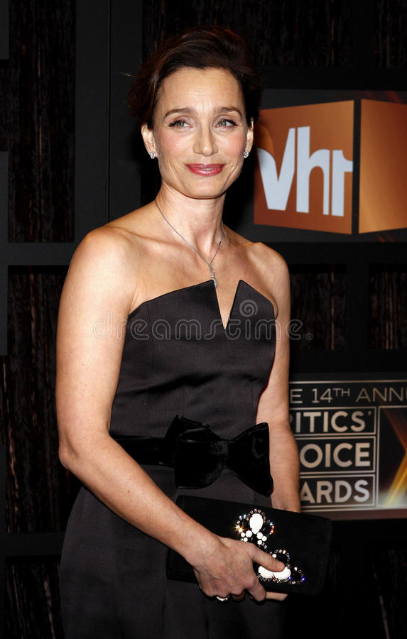 kristin scott thomas royaltyfria bilder