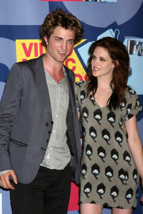 KRISTIN STEWART, Robert Pattinson lizenzfreies stockfoto