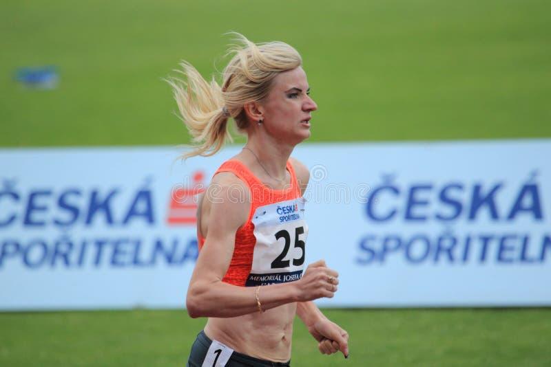 Kristina Ugarova - idrottsman nen fotografering för bildbyråer