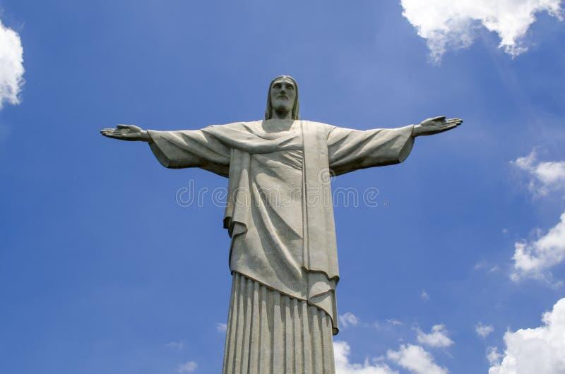KristusFörlossare i Rio de Janeiro royaltyfria bilder