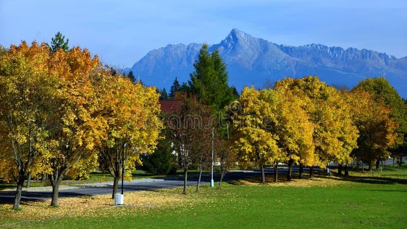 Krivan, Vysoke Tatry, Σλοβακία στοκ εικόνες