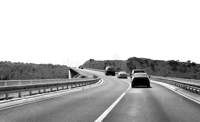KRK海岛桥梁-克罗地亚 图库摄影