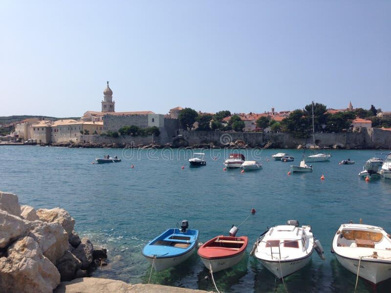 Krk, Croacia fotos de archivo libres de regalías