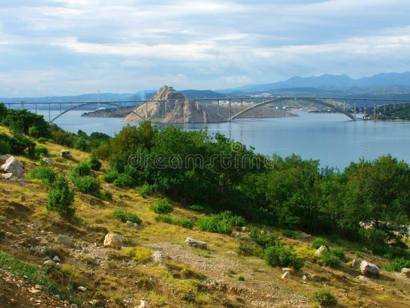 Krk Croatia fotografía de archivo libre de regalías