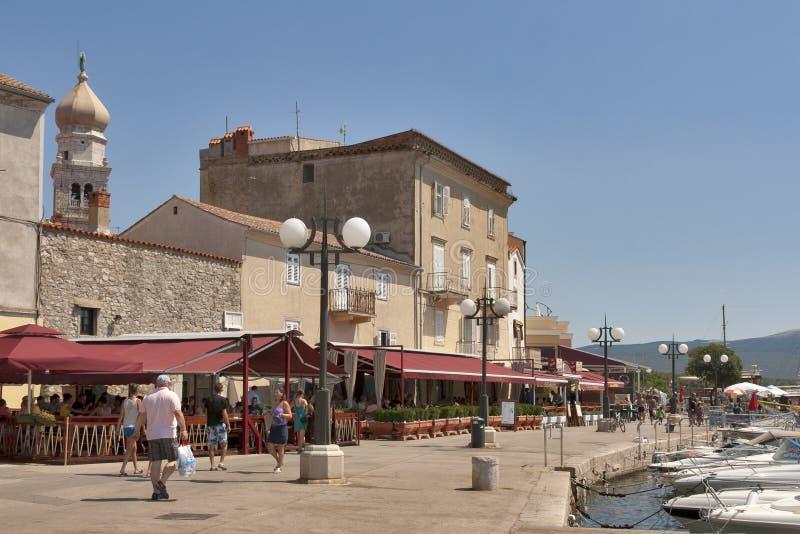 Download Krk seafront, Croatia editorial stock image. Image of apartments - 27947284