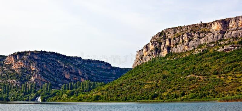 krka rzeki siklawa zdjęcie royalty free