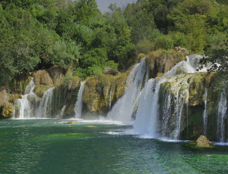 Krka rzeki siklawa obrazy royalty free