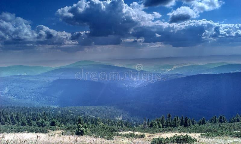 Krkonose góry fotografia royalty free