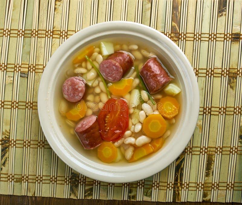 Kroat Bean Soup arkivfoton