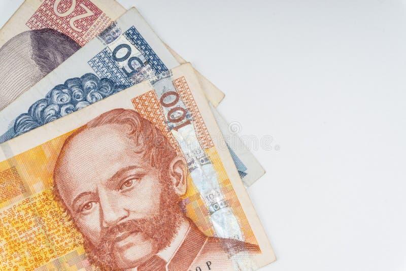 Kroat KUNA eller för pengarvaluta för STO KUNA closeup arkivfoton