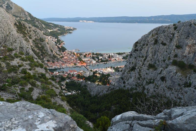 Kroat Omis arkivfoton