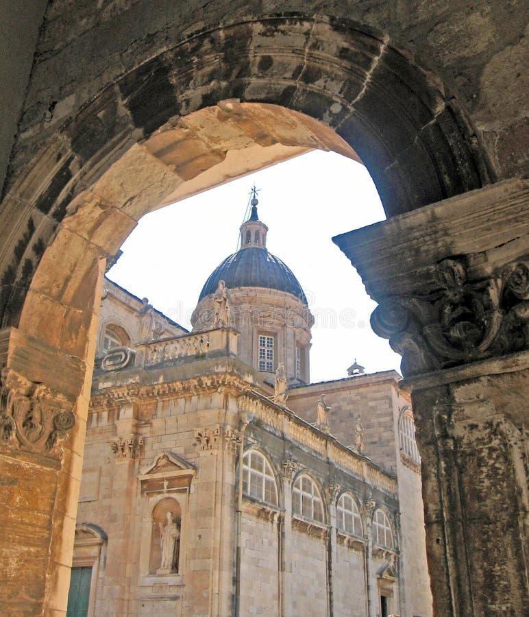 Kroatië. Dubrovnik stock afbeeldingen
