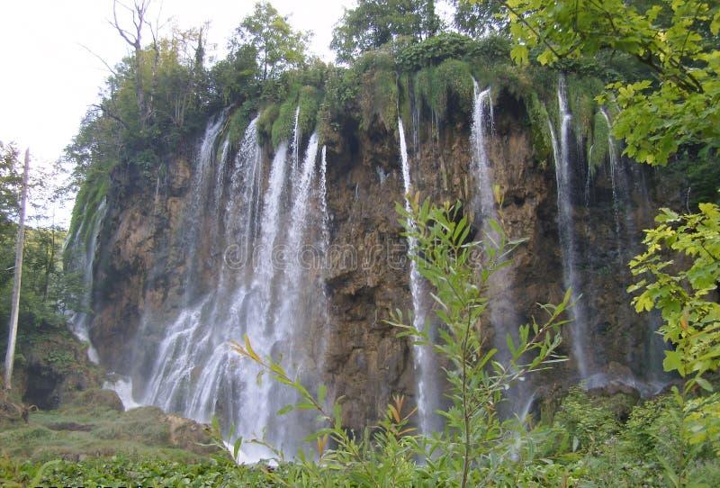 Kroatië-Plitvice Meren Nationaal Park stock foto