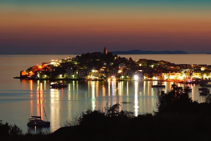Kroatië-Primosten. stock fotografie