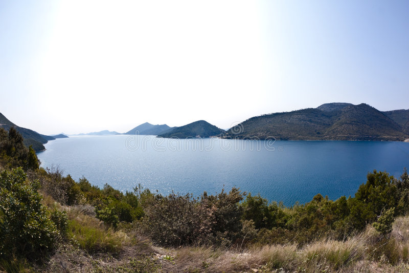Download Kroatien stockbild. Bild von panoramisch, serene, kroatien - 9096241