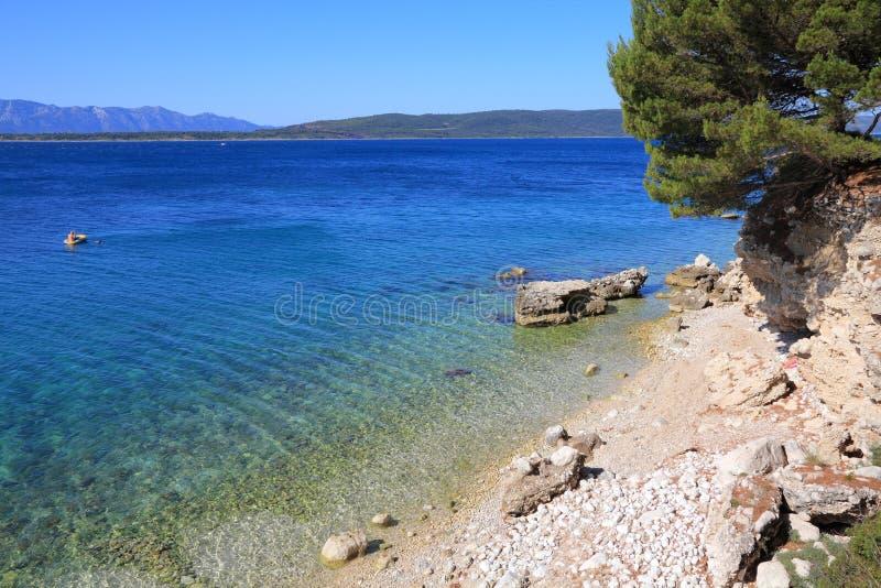 Kroatien - Adriatic kust royaltyfria bilder