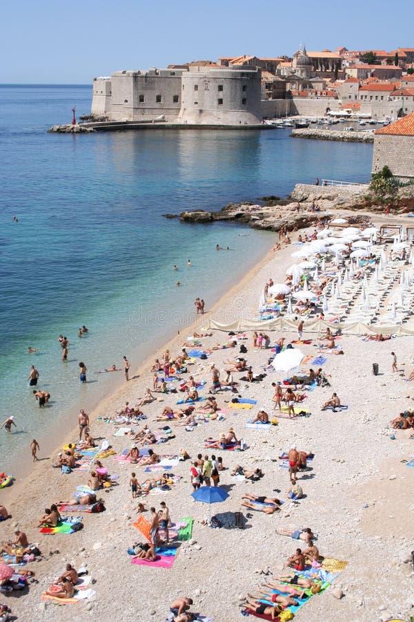 Kroatien-Dubrovnik stockfotos
