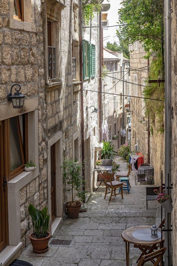 Kroatien för Korcula ö, Dalmatia fotografering för bildbyråer