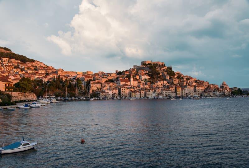 Kroatien-Küste lizenzfreies stockfoto