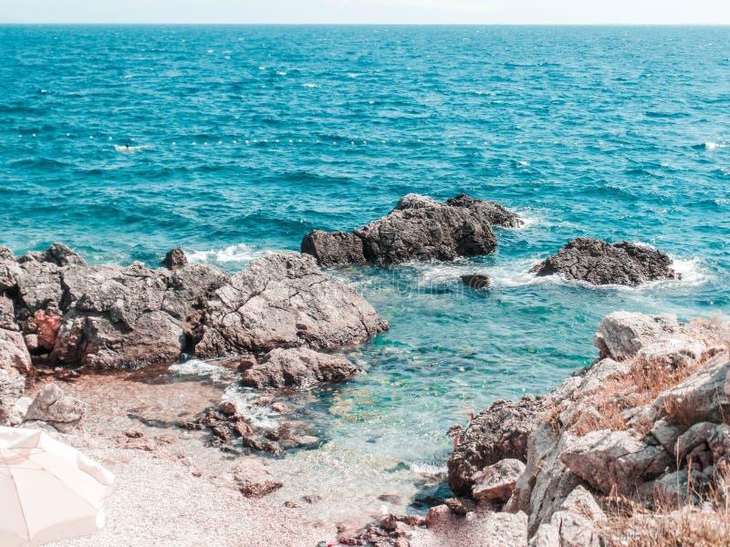 Kroatien- - Krk-Insel lizenzfreie stockbilder