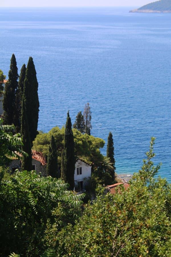 Kroatien natur och landskap Europa lopp wanderlust fotografering för bildbyråer