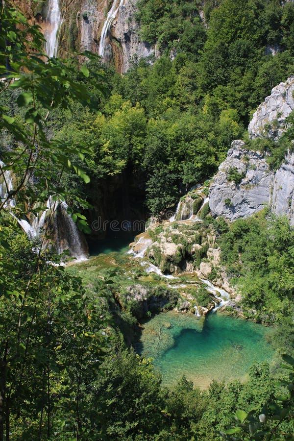 Kroatien natur och landskap Europa lopp wanderlust royaltyfria bilder