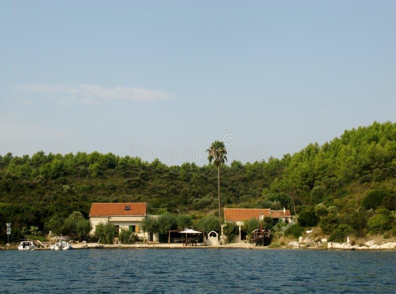 Kroatisch eiland stock foto