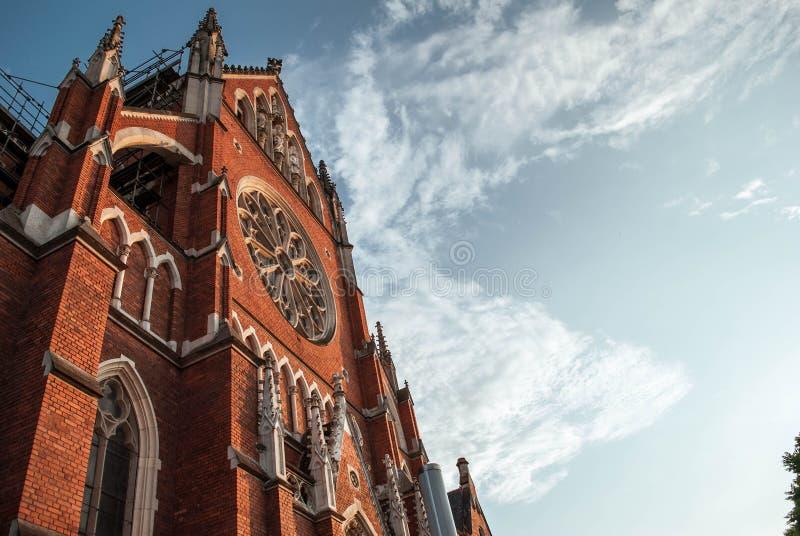 Kroatische kathedraal, Osijek royalty-vrije stock afbeeldingen