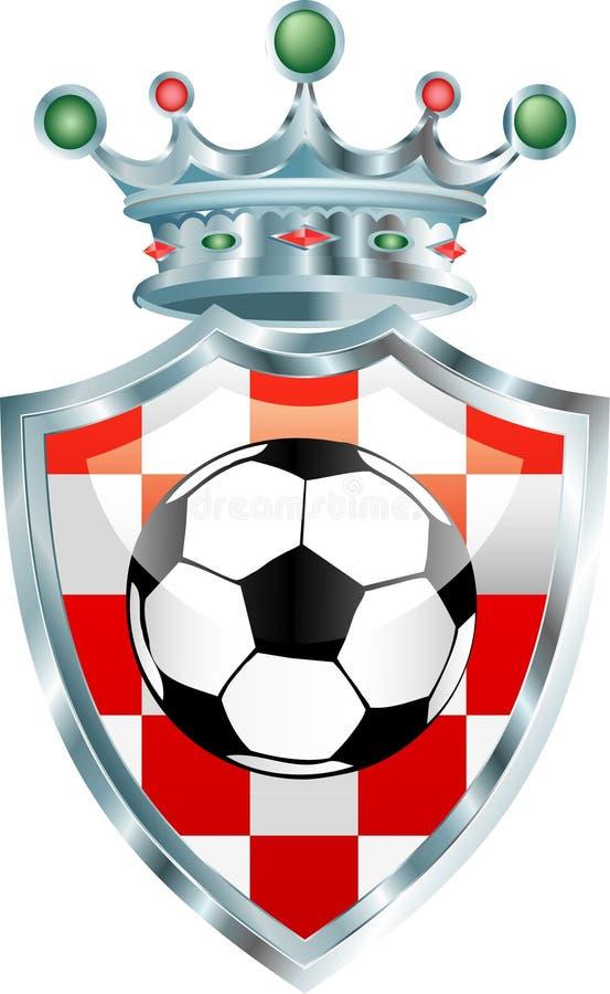 Kroatischer Fußball vektor abbildung