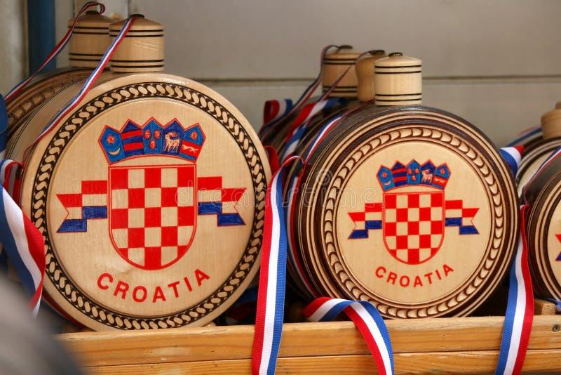 Kroatiska souvenir royaltyfri fotografi