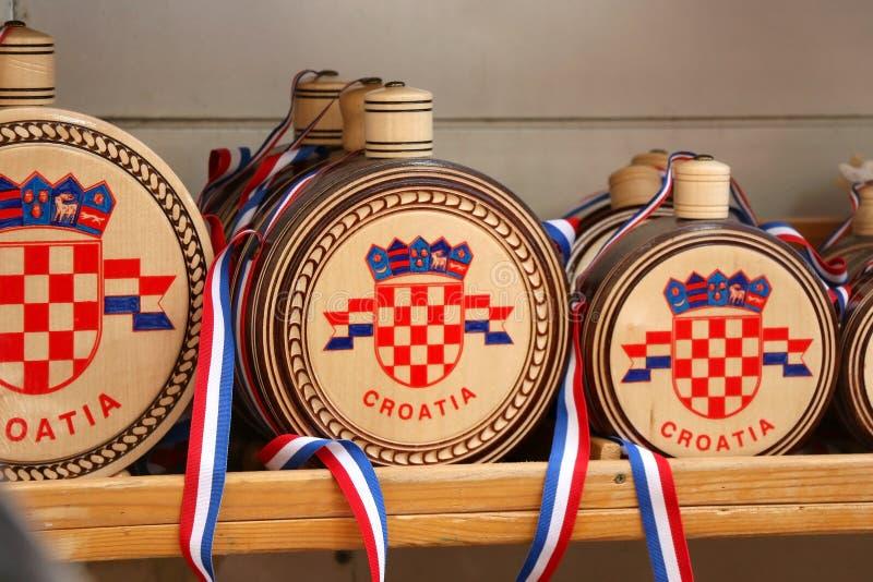 Kroatiska souvenir royaltyfri bild