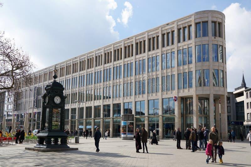 Kroepcke广场在汉诺威德国 库存照片