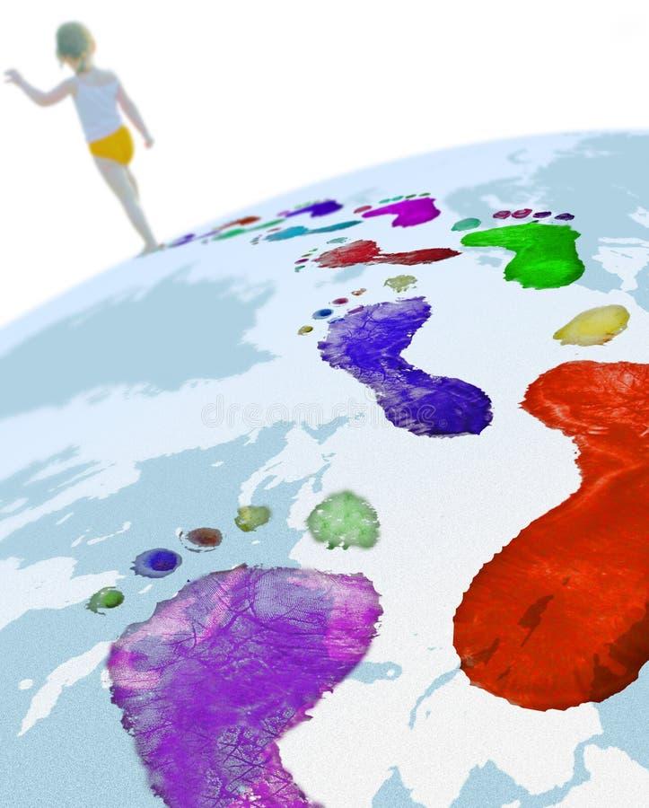 Download Krok obraz stock. Obraz złożonej z mapa, krok, ziemia - 6929983