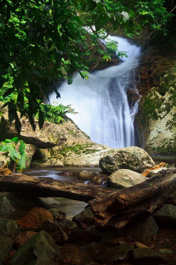 Download Krok Ja Dok Siklawa, Tajlandia Obraz Stock - Obraz złożonej z spadek, basen: 41950877