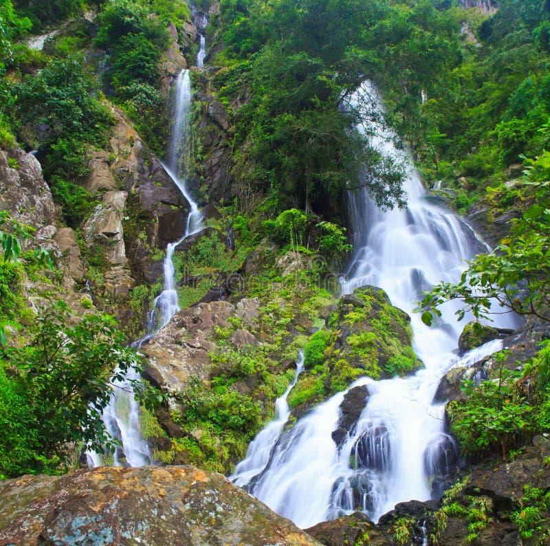 Download Krok Ja Dok Siklawa, Tajlandia Obraz Stock - Obraz złożonej z 0, relaksuje: 41951161