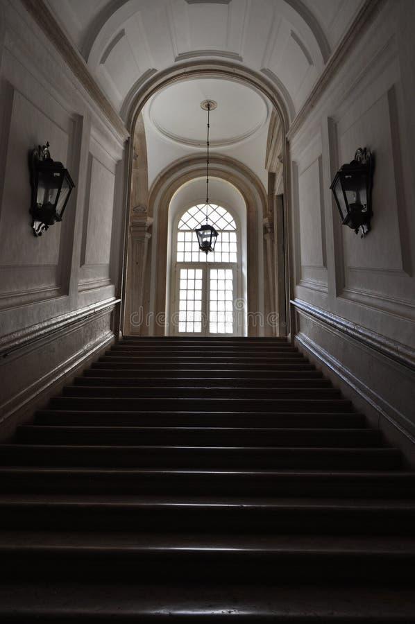 Krok po kroku, w pałac zdjęcia royalty free