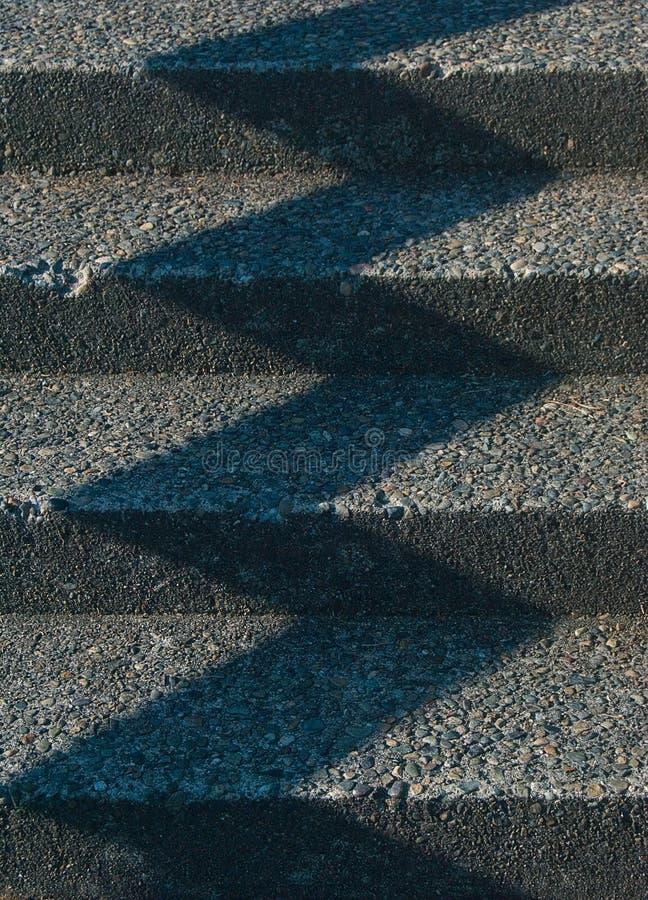 Kroki i cienia wzór fotografia stock